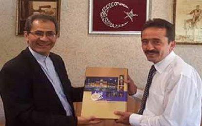 بخش ایرانشناسی در بزرگترین کتابخانه شرق ترکیه ایجاد میشود