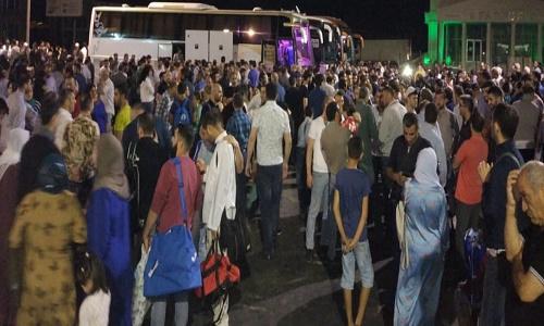 اعزام اولین گروه از زائرین جمهوری آذربایجان به عتبات عالیات جهت شرکت در مراسم روز عرفه/تصاویر