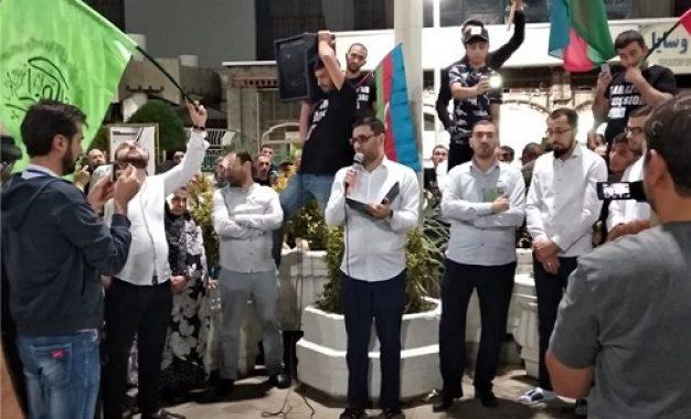 ینی مساوات: کاروان زیارتی هفتصد نفری دینداران جمهوری آذربایجان راهی «زیارت عرفه» شد