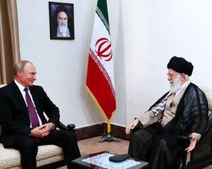 رهبر معظم انقلاب اسلامی در دیدار پوتین: ایران و روسیه می توانند در مهار آمریکا همکاری داشته باشند