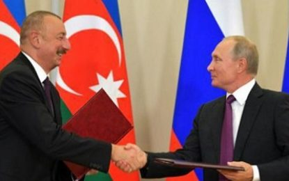 پوتین به دنبال کاهش نفوذ اسرائیل در آذربایجان و قفقاز