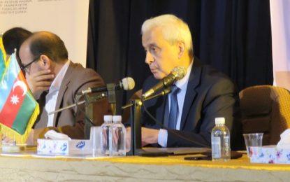 رییس هیئت اعزامی جمهوری آذربایجان در اردبیل؛ اشغال قرهباغ توسط ارمنستان یک حادثه تروریستی است