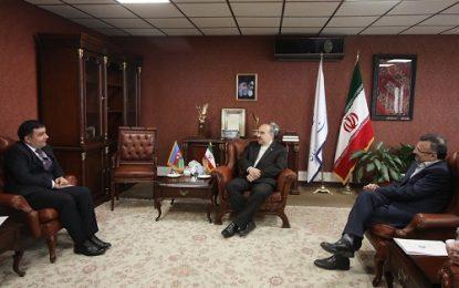 دیدار وزیر ورزش و جوانان با سفیر جمهوری آذربایجان در تهران