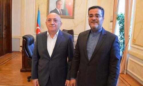 رایزن فرهنگی ایران با رئیس کمیته امور دینی جمهوری آذربایجان دیدار کرد