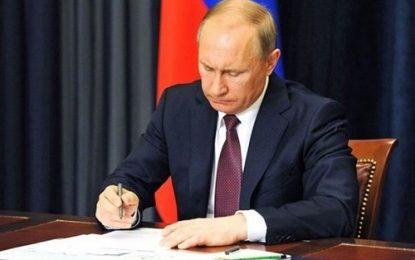 پوتین توافق تجارت آزاد ایران-اتحادیه اقتصادی اوراسیا را امضا کرد