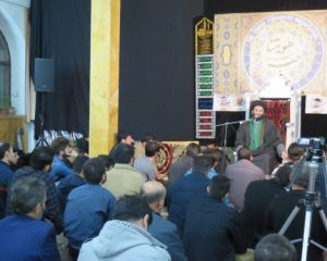 """مراسم نکوداشت """"شهدای جهان اسلام """"با محوریت"""" شهدای نارداران""""در اردبیل برگزار شد"""