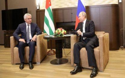 پوتین: روابط روسیه و آبخازیا جنبه راهبردی دارد