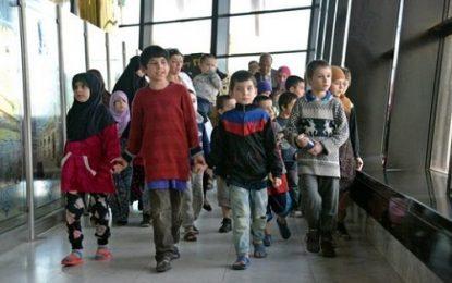 بازگرداندن ۳۰ کودک داعشی اهل داغستان و چچن به روسیه/تصاویر
