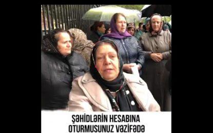 اعتراض خانواده شهدای قره باغ به برخورد تند پلیس با آنها/فیلم