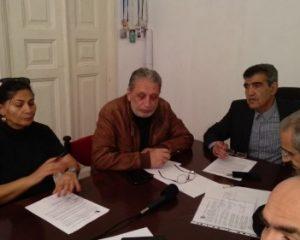 برگزاری نشست گروه تازه تاسیس« اتحاد برای آزادی زندانیان سیاسی» در باکو/تصاویر