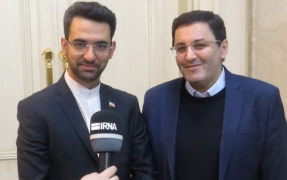 سفر وزیر ارتباطات و فناوری اطلاعات به جمهوری آذربایجان