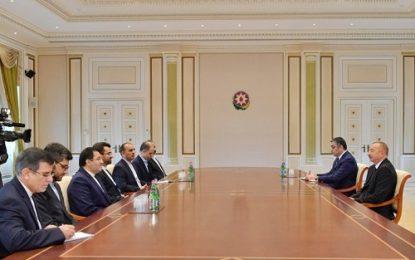 وزیر ارتباطات و فناوری اطلاعات با رییس جمهوری آذربایجان دیدار کرد