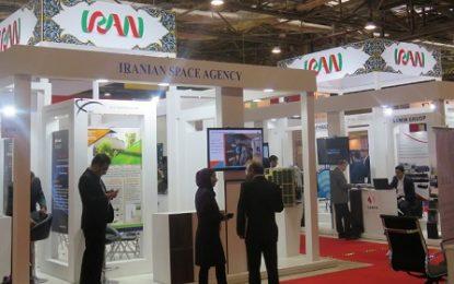 ایران با ماهواره پیام امیرکبیر در نمایشگاه «باکو تل» حضور یافت