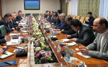 تاکید ایران و روسیه بر گسترش همکاری های پارلمانی