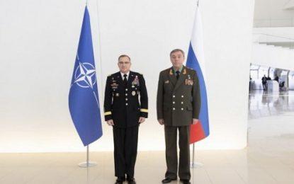 دیدار رییس ستاد مشترک روسیه و فرمانده ناتو در اروپا در باکو