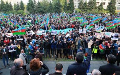 موافقت فرمانداری باکو با برگزاری تجمع اعتراضی شورای ملی