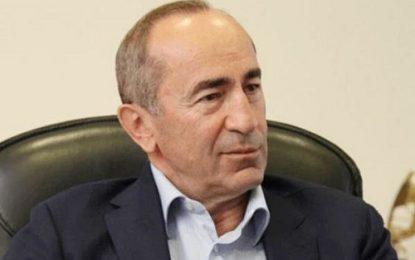 رییسجمهور سابق ارمنستان از زندان علیه پاشینیان نامه نوشت