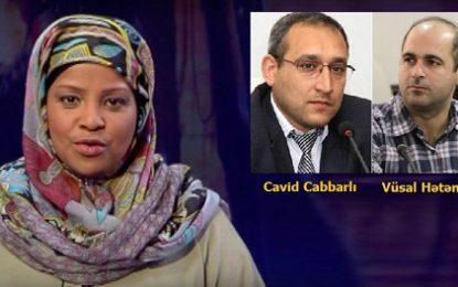 فعالان رسانه در جمهوری آذربایجان خواهان آزادی خبرنگار شبکه تلوزیونی « پرس تی وی » در آمریکا شدند