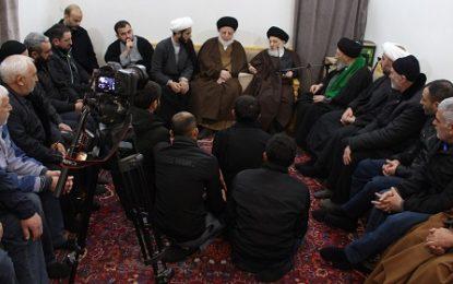 دیدار جمعی از شیعیان جمهوری آذربایجان با آیت الله العظمی حکیم
