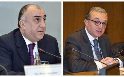 دیدار وزرای خارجه آذربایجان و ارمنستان در پاریس