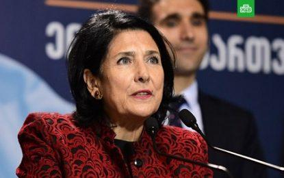رییس جمهوری گرجستان: شرایط لازم برای برقراری روابط میان گرجستان و روسیه فراهم نیست