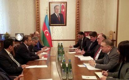دیدار وزیر خارجه جمهوری آذربایجان با هیات پارلمانی عربستان