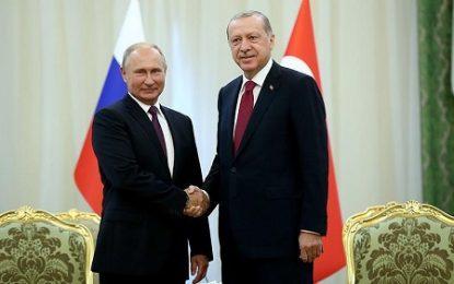 نخستین دیدار اردوغان و پوتین در سال جدید میلادی