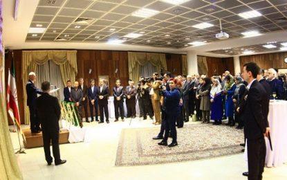 برگزاری جشن چهلمین سالگرد پیروزی انقلاب اسلامی در تفلیس