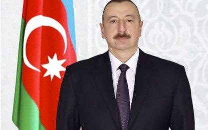 پیام تبریک رییس جمهوری آذربایجان به مناسبت سالگرد پیروزی انقلاب اسلامی