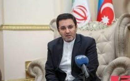 سفیر ایران در جمهوری آذربایجان: تهران و باکو درصدد افزایش حجم مراودات تجاری به پنچ میلیارد دلار هستند