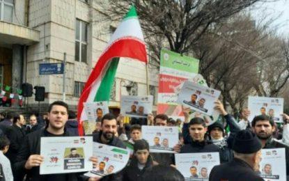 مردم تبریز با اعلام حمایت از اسلامگرایان جمهوری آذربایجان،  شکنجه محبوسین در این کشور را محکوم کردند