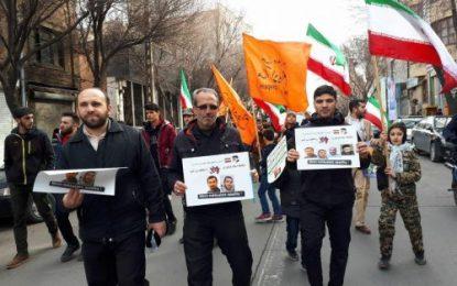 راهپیمایان در شهرهای مختلف ایران اسلامی،  افزایش فشار و شکنجه بر زندانیان اسلام گرا در جمهوری آذربایجان را محکوم کردند / تصاویر