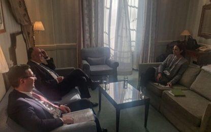 دیدار وزیر خارجه آذربایجان و مدیر ارشد شورای امنیت ملی آمریکا در مونیخ