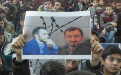 حمایت فرهنگیان و دانش آموزان شهر بیجار از محبوسین اسلامگرای جمهوری آذربایجان/تصاویر