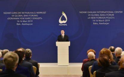 الهام علی اف: براساس قطعنامه شورای امنیت، ارمنستان باید نیروهای نظامی خود را از قره باغ خارج کند