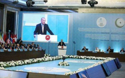 اردوغان: سکوت در برابر اسلام هراسی جایز نیست
