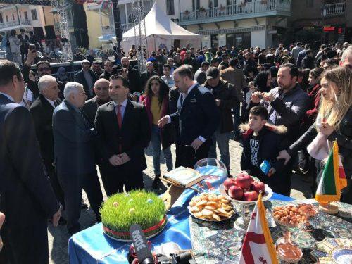 برگزاری مراسم جشن نوروز در گرجستان