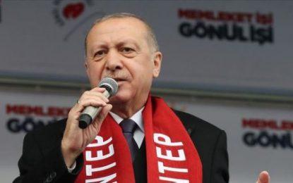 اردوغان: مسلمانان هرگز تسلیم نخواهند شد