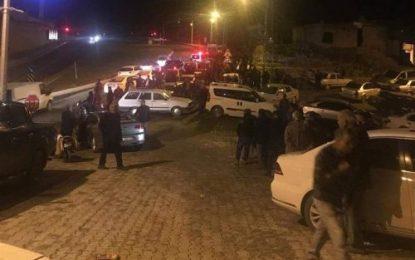 حمله مسلحانه به دفتر حزب سعادت