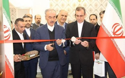 افتتاح نمایشگاه دایمی عکس تاریخ روابط ایران و نخجوان