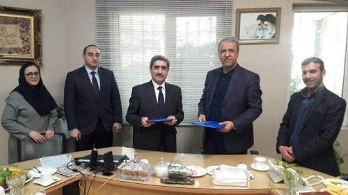 امضا تفاهمنامه همکاری میان دانشگاه دولتی پزشکی جمهوری آذربایجان و موسسه رویان