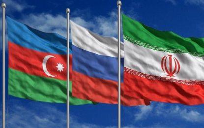 نشست سه جانبه وزرای راه و حمل و نقل ایران، روسیه و جمهوری آذربایجان در سوچی