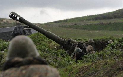 نقض مکرر آتش بس از سوی نیروهای ارمنی در منطقه مورد مناقشه قره باغ