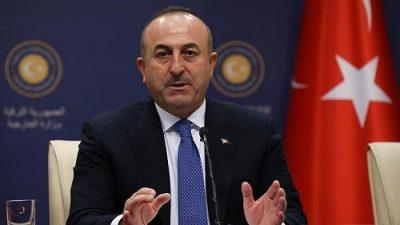 وزیر خارجه ترکیه: آنکارا عملیات نظامی خود را در خاک سوریه متوقف میکند