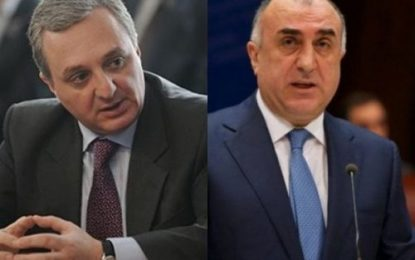 نشست وزرای خارجه جمهوری آذربایجان و ارمنستان در مسکو برای حل وفصل مناقشه قره باغ