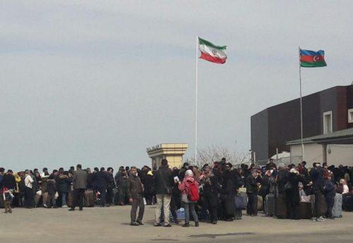 کاهش ۶۵ درصدی سفر ایرانیان به جمهوری آذربایجان از مرز زمینی بیله سوار