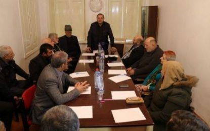 برگزاری نشست جمعی از فعالان سیاسی و اجتماعی جمهوری آذربایجان در محکومیت تحریم های ظالمانه آمریکا علیه ایران