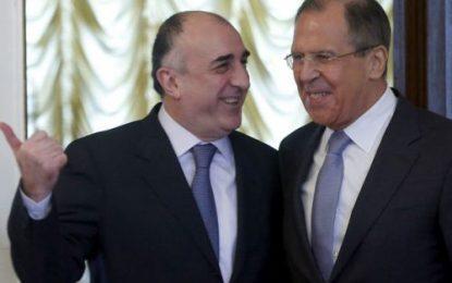 دیدار وزرای خارجه جمهوری آذربایجان و روسیه