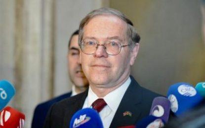 احضار سفیر آمریکا در باکو به وزارت خارجه جمهوری آذربایجان