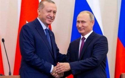 سفر رییس جمهوری ترکیه به مسکو